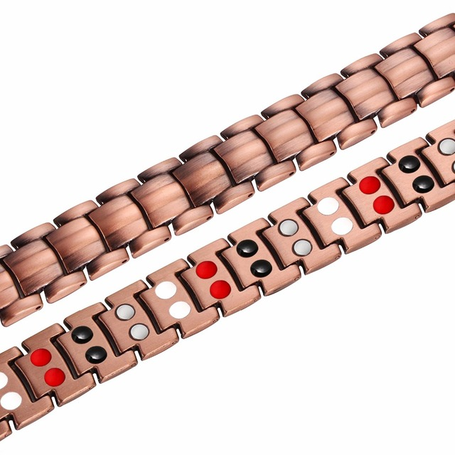 Pure Copper 4 IN 1 Bio Elements Energy Magnetic Bracelet