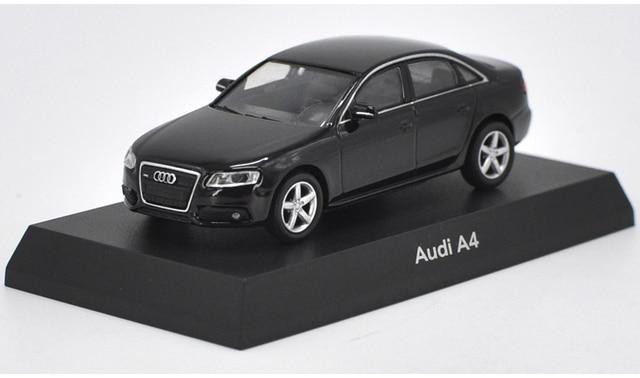 1 64 Diecast Model For Audi A4 Black Sedan Alloy Toy Car Miniature