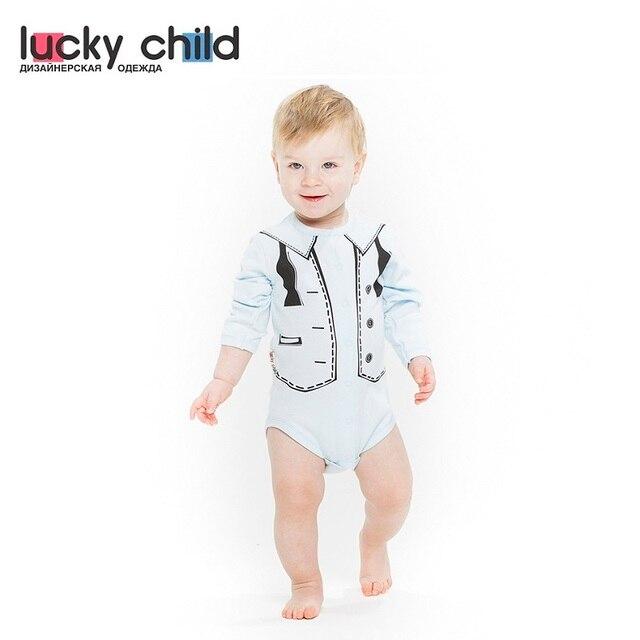 Боди Lucky Child для мальчиков [сделано в России, доставка от 2-х дней]