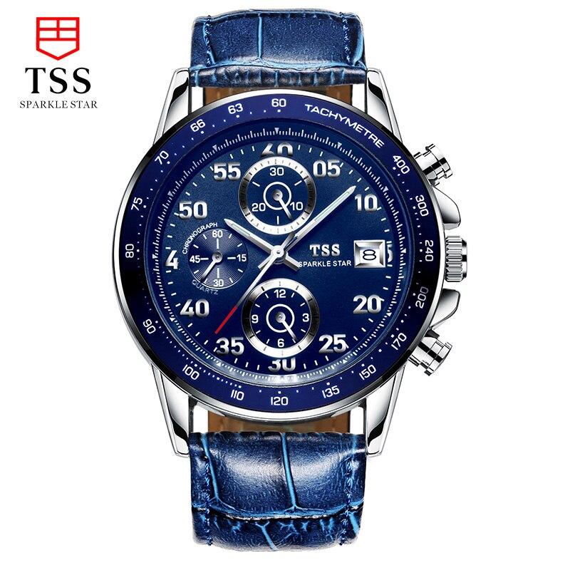TSS CARRERA Calibre 16 TACHYMETER Chronograph watches speed master Racing font b Men s b font