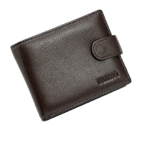 Men Wallet RFID Genuine Leather Card Coin Holder Hot Sale 2017 Short Luxury Designer Dollar Price