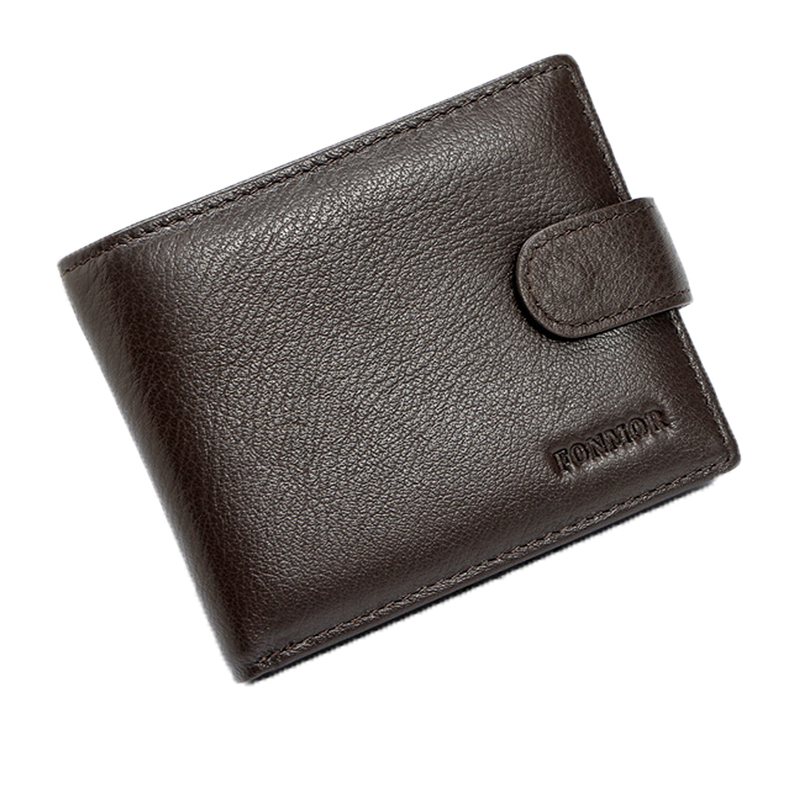 Men Wallet RFID Genuine Leather Card Coin Holder Hot Sale 2017 Short Luxury Designer Dollar Price Photo Casual Cash Male Purse flying birds 2016 wallet leather purse dollar price men bags wallets card holder coin purses short wallet men s bag lm3421fb