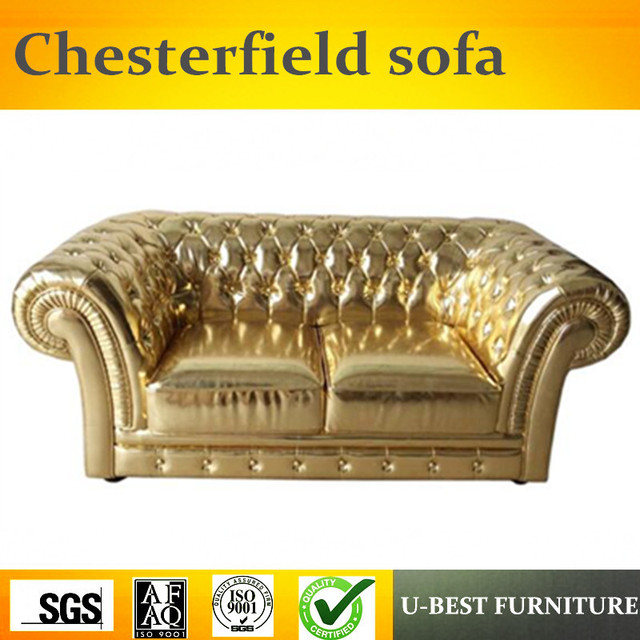 U BEST Modern Style Leather Classic Leather Chesterfield Contemporary Hot  Sale Sofa,Retro Luxurious