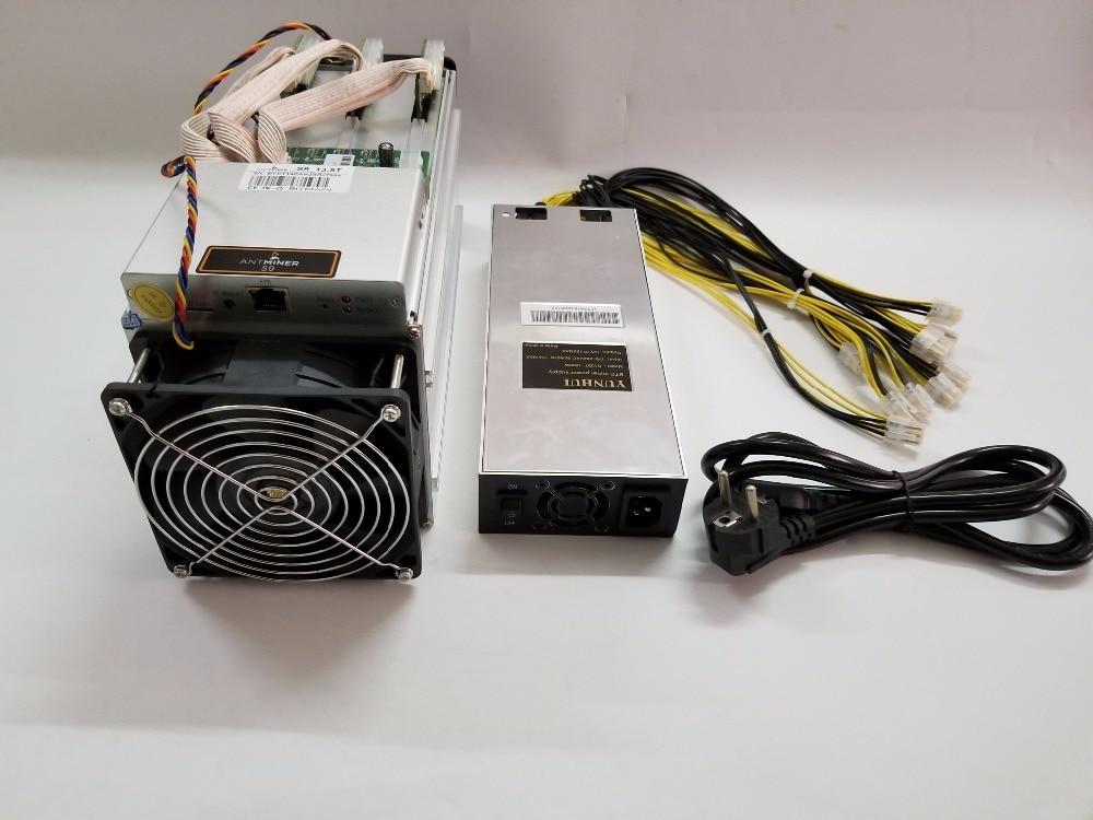 YUNHUI AntMiner S9 13T Bitcoin Miner With Power Supply Asic Miner Newest 16nm Btc BCH Miner Bitcoin Mining Machine