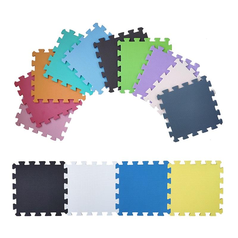 JCC 6/9/12/15/25pcs Baby EVA Foam Puzzle Play Mat /kids Rugs Carpet  Interlocking Exercise Floor For Children Tiles 30*30*1cm