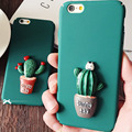 100pcs 3D Cactus Case Hard PC Phone Cases Back Cover for Samsung Galaxy S7 S6 Edge Note7 Note 5 A7 A8 A9 J5 J7 C7 C9