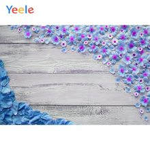 Yeele Wallpaper Photocall Flower Wood Texture Decor Photography Backdrops Personalized Photographic Backgrounds For Photo Studio