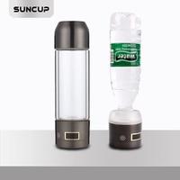 Portable Water Ionizer Hydrogen Generator For H2 Rich Hydrogen Water Bottle Ionizer 350ML USB Electrolysis Hidrogen 1385PPB