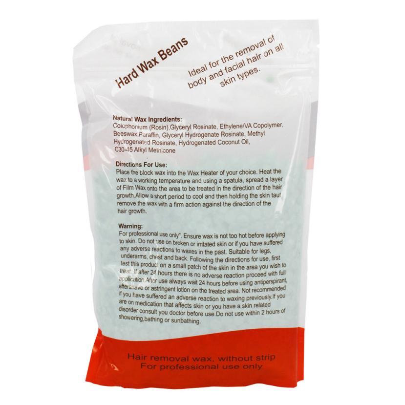 New Arrival 1 bag Chamomile Flavor No Strip Depilatory Hot Film Hard Wax Pellet Waxing Bikini Hair Removal Bean wholesale