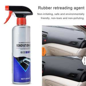 Polishing-Paste Rubber-Parts Retreading Plastic Scratch Car 500ML Wax Protection Plating