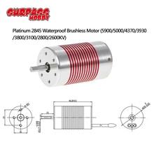 SURPASSHOBBY Platin Wasserdicht Serie 2845 4370KV 3930KV 3100KV Bürstenlosen Motor für Wltoys 12428 HG P601 1/14 1/12 RC Auto