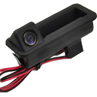 HD colorful car Rear view camera, handle camera for Land Rover Range Rover Freelander 2 with optional parking line