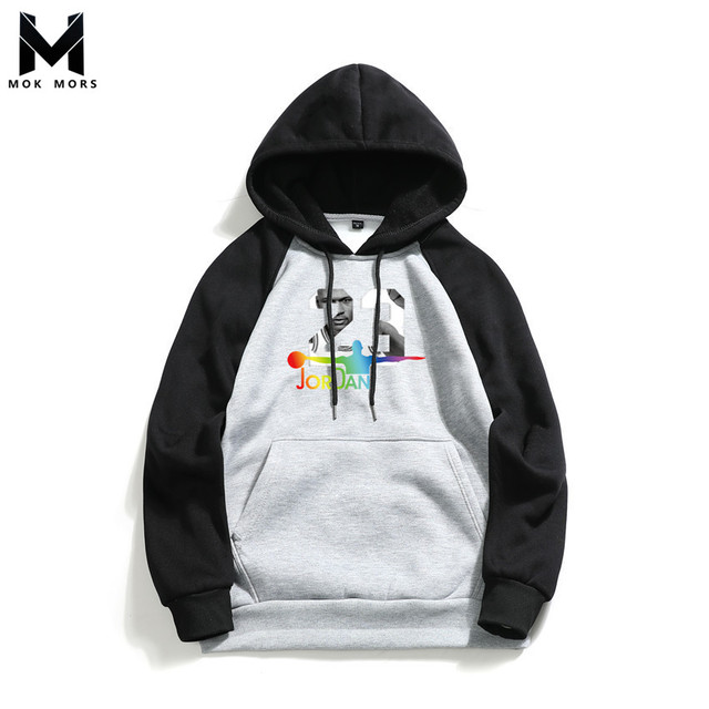 1f02102243 2019 Hot New Business Casual Wild Print Hooded Long Sleeve Men Hoodies  Sweatshirts Fashion Brand Slim