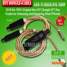 2020 Originele Nieuwe Eft Dongle En 2 In 1 Kabel Set/Eft Dongle Eft Sleutel + 2 In 1 kabel Voor Ontsluiten En Repareren Smart Telefoons