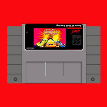 Рок-н-ролл Racing 16 бит большой серый карточная игра для США NTSC игры
