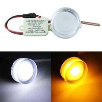 Ultra Thin Design 5pcs Lot 1x3w LED Ceiling Recessed Downlight Round Lamps Led Ceiling Lamp Home