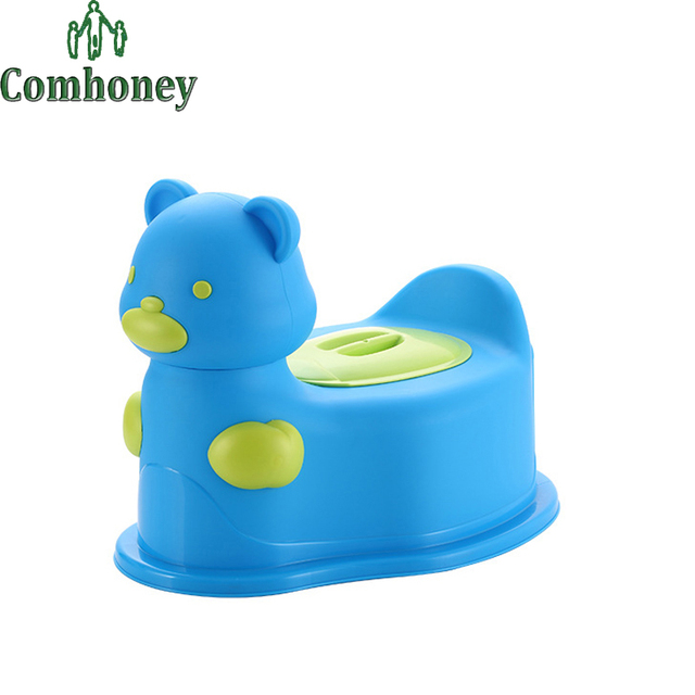 Baby Potties with Wheels Color Kawaii Bear Multifunctional Kids Toilet Seat Children Portable Toilet Chair Infant Jordan Toy Car