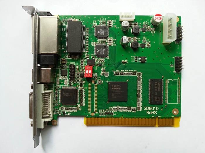Linsn TS802D sending card,full color control system