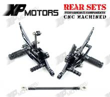 New Arrived Racing Foot pegs Adjustable Rearset Rear Sets For Yamaha YZF R1 1998 1999 2000 2001 2002 2003 Black