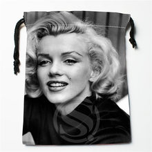 J&w11 New Marilyn Monroe physical beauty #6 Custom Printed receive Bag Compression Type drawstring bags size 18X22cm W725&JYp11