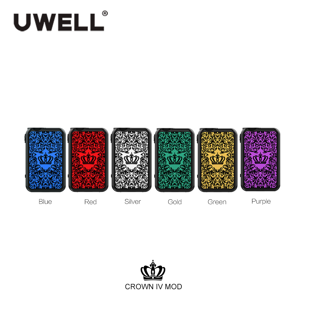 UWELL Crown 4 IV Mod Power by 18650 Battery Fit for Tank 5-200W  Electronic Cigarette