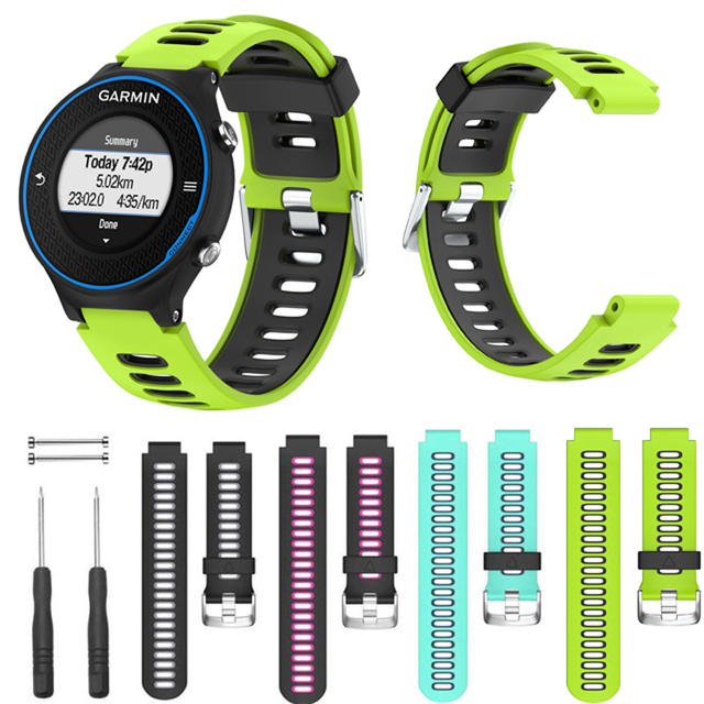 Jker Soft Silicone Strap Replacement Watch Band For Garmin
