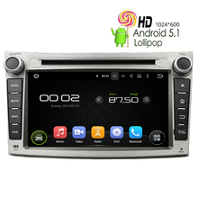 Car DVD GPS Player For Subaru Legacy Outback Android 5.1.1 Auto Radio Bluetooth Mirror Link RK3188 Wifi 8G Map+16G Rom+1G RAM SD