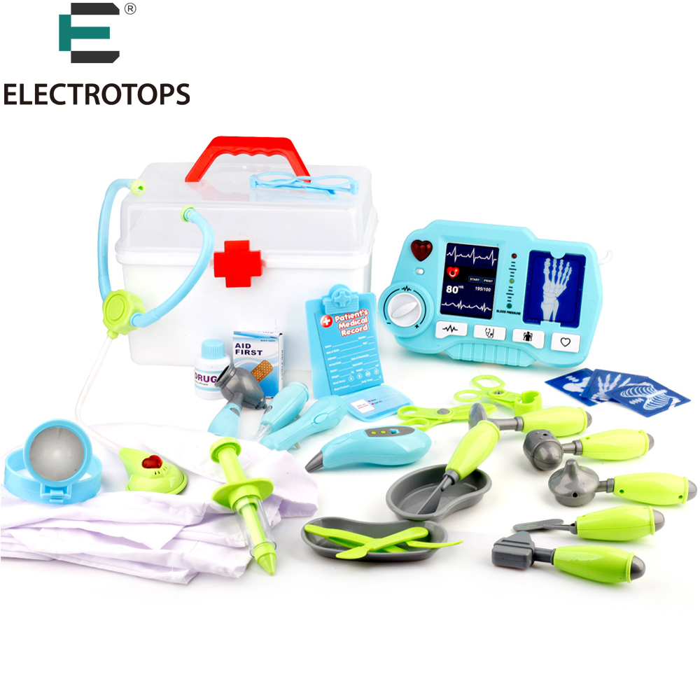 Children Pretend Doctor Kit with cloth and X Ray Machine