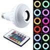 Wireless Bluetooth Speaker 12W RGB Bulb E27 LED Lamp 100 240V 110V 220V Smart Led Light