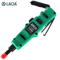 LAOA Punch Tool used on KRONE 110 type module (Pouyet type) Terminal Board Crimping Device,Wire Cutter Crimping Tool