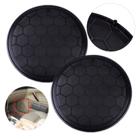 New 2Pcs 17cm Black Plastic Door Speaker Loud Speaker Cover Grill 3B0868149 3B0 868 149 Fit