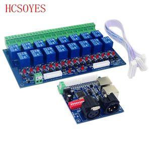 Image 3 - 16CH Relais schalter dmx512 Controller, relais ausgang, DMX relais steuerung, 16way relais schalter (max 10A), hohe spannung led leuchten