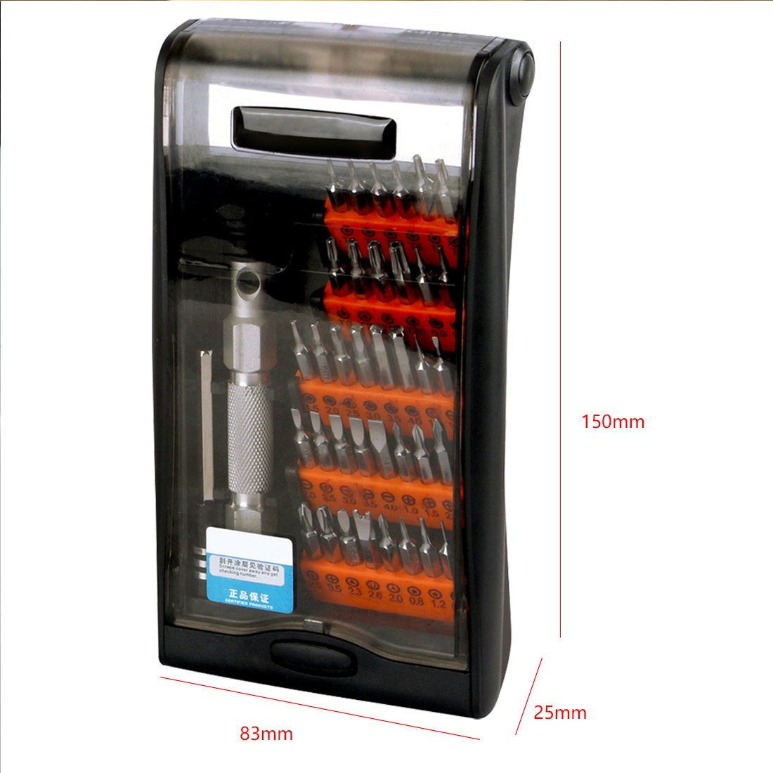 New 38 in 1 Mobile Phone Repair Opening Tools Precision Screwdrivers Set Cell Phone Tablet Electronics Maintenance Tool