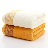 Luxury Europe Bath Towel Bamboo Fiber Thickened Swimmer Swimming Travel Towel Embroidery Bath Sport Towels Home
