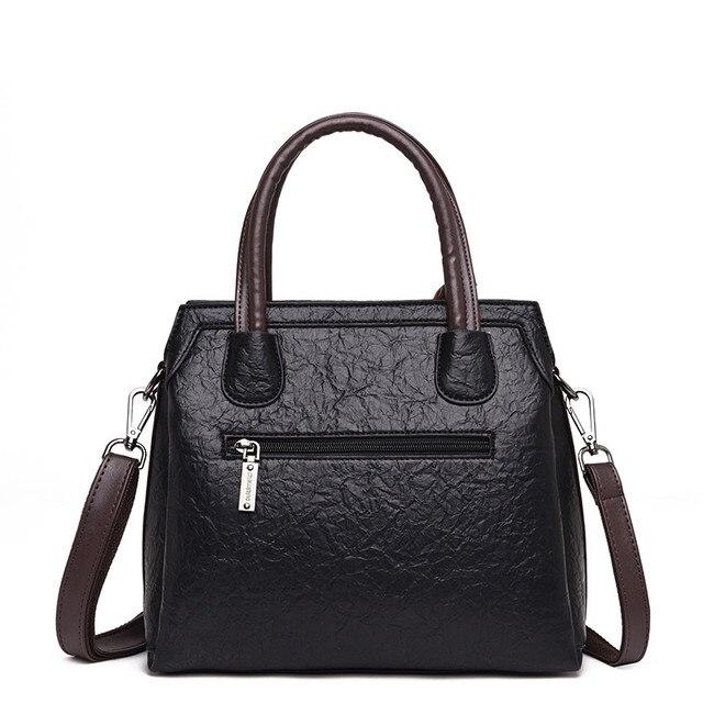 New Luxury Handbags Women Bags Designer Leather Handbags Bags For Women 2018 Large Hand Bag Bolsa Feminina Top-handle Bags Sac 4