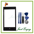 New Touch Panel For Nokia Lumia 520 Touch Screen Digitizer With Frame Replacement + Tools Free Tracking NO.