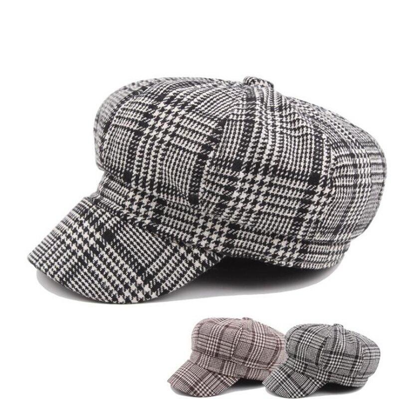 De moda Baker Boy sombrero para las mujeres clásica chicas británico  vendedor caliente sombrero militar H3 873dc40ebc0