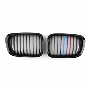 Bmw E46 Parts | Areyourshop Car Front Fence Grill Grille ABS Black Mesh For BMW E46 4D 3 Series 1998-2001 1Pair Car Styling Covers Grill Parts