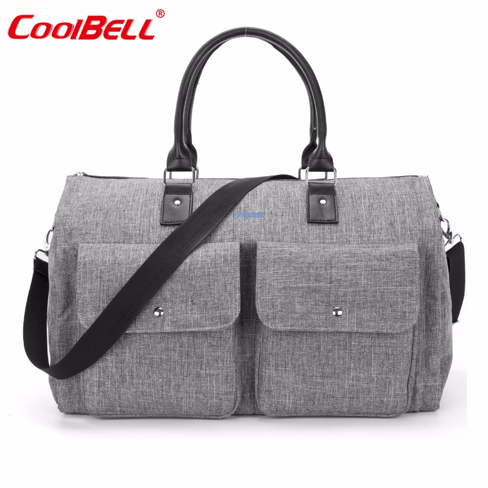 Baby Diaper Bag Portable Multifunctional Large Capacity Stroller Bag Tote Bag Nappy Organizer Handbag With Changing