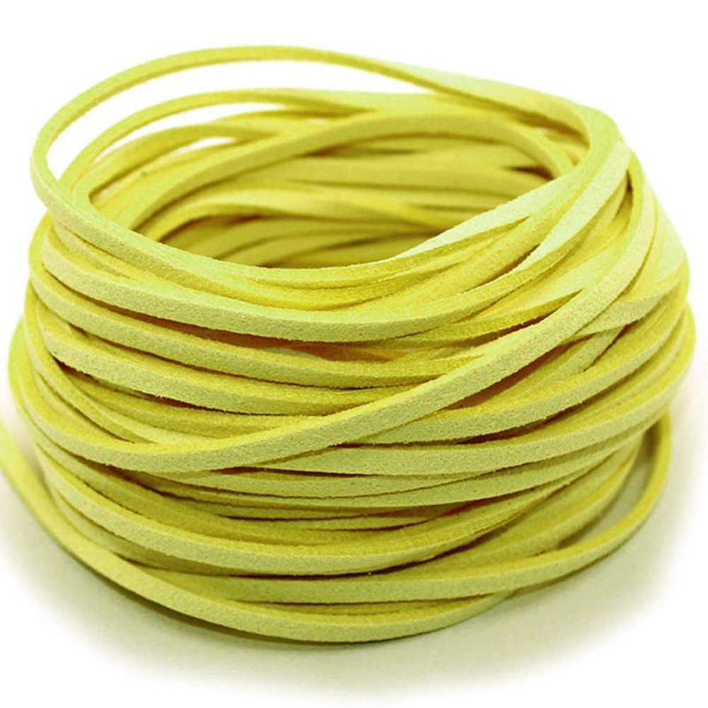 1pc 1m Flat Faux Suede Braided Cord Soft Leather Lace Handmade Beading Bracelet Jewelry Making Thread String Rope