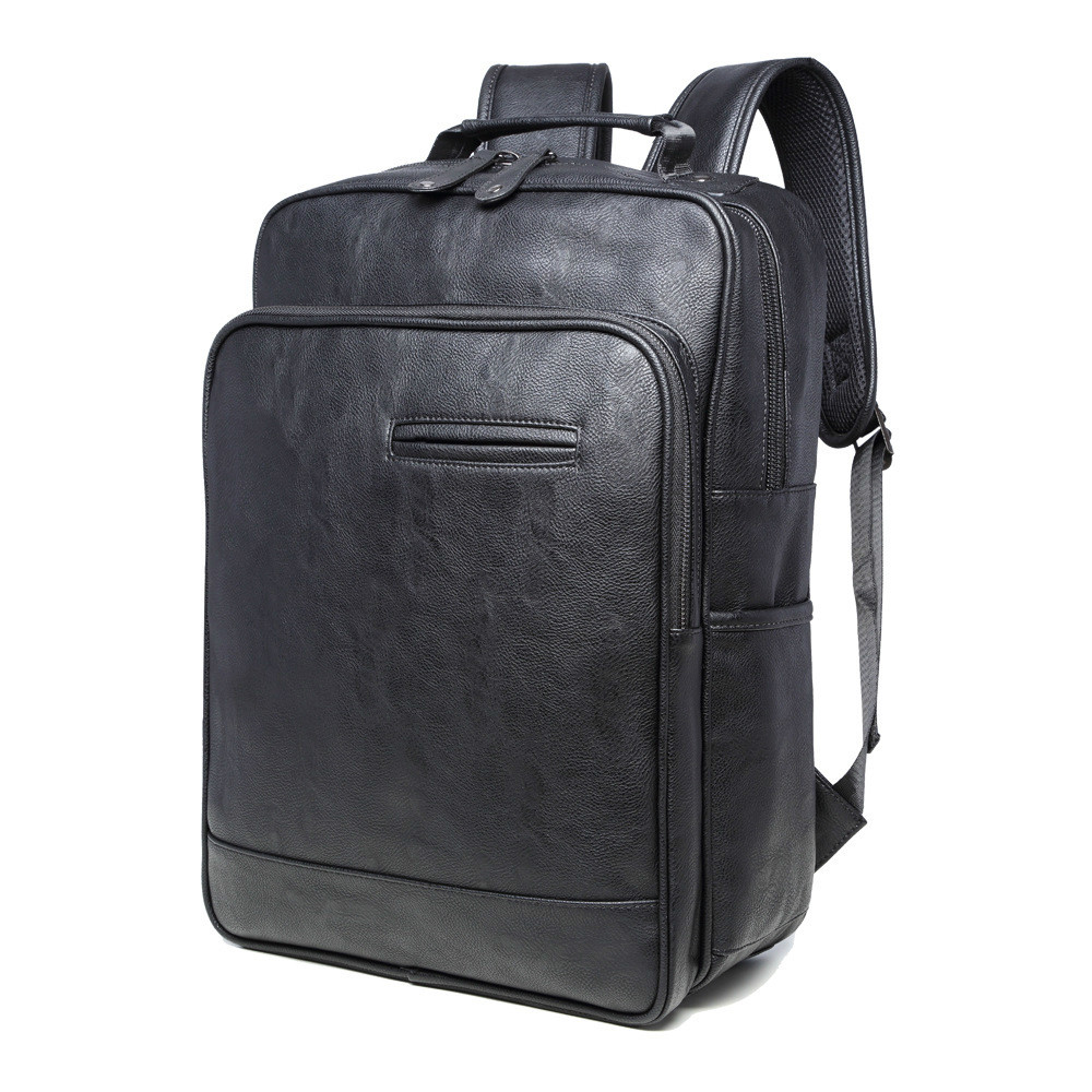 Luxury Brand Backpack Mens High Quality PU Leather Vintage Black Men Male Casual Travel School Bags Backpack For Laptop MochilaLuxury Brand Backpack Mens High Quality PU Leather Vintage Black Men Male Casual Travel School Bags Backpack For Laptop Mochila