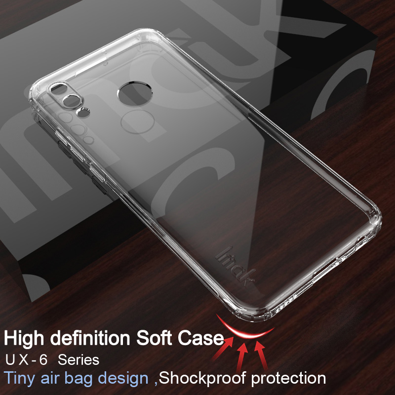Imak Soft Silicone Case for Huawei Honor 10 Lite Transparent Airbag Phone Cover For Huawei Honor 10 Lite / P smart 2019 Honor10