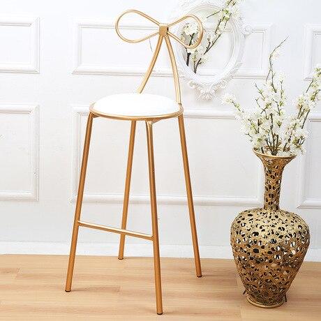 Гостиничные стулья, гостиничная мебель, коммерческая мебель, железные стулья в американском стиле, современные 75 см/45 см,, новинка - Цвет: 75cm