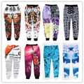 2015 New 100 Emoji joggers Pants White Blue Figure Women/Men/Girl/Boy Sweatpants Cartoon Outfit Clothes Trousers Drop Shipping