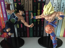 BIG Dragon Ball Z Resurrection F Super Saiyan Son Goku Bardock Fighting 25CM