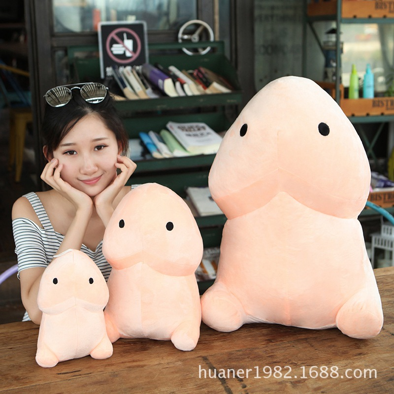 Cute Penis plush toys creative Funny Fun Dildo pillow doll sexy plush toy Gift For Adult Plush Toy funny fishing game family child interactive fun desktop toy
