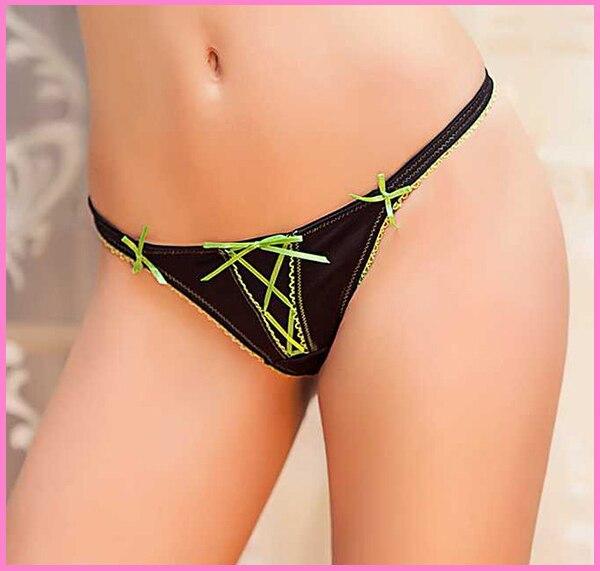 Buy 2015 New Arrival Brand sexy g-strings thongs & tangas panties women Bow panties female underwear underwear women's briefs
