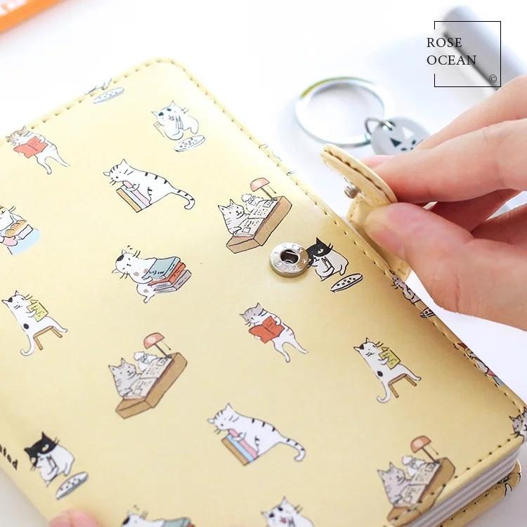 1Pcs Δερμάτινο Hardcover Notebook Χαριτωμένο - Σημειωματάρια - Φωτογραφία 2