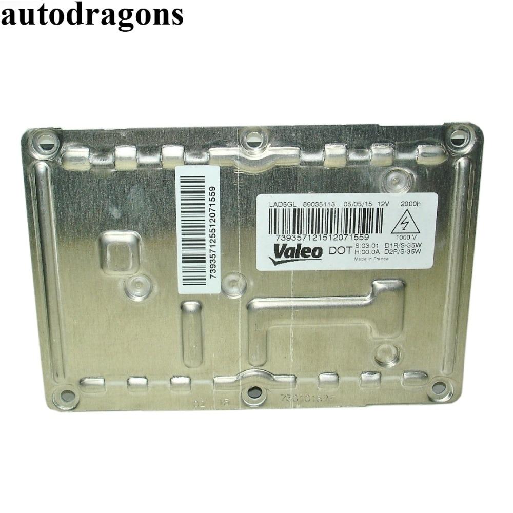 Autodragons 2 pcs OEM Ballasts 3D0 907 391B D1 D3 Xenon HID Projecteur Unités Phare Allumeur Pour B6 A4 2002 -2005 (avec Bi-Xénon)