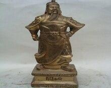 A copper copper Baozhai knife copper ornaments Guan Guan Yu statues bronze crafts wholesale Fortuna Wu ornaments